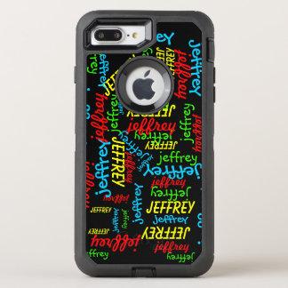 Repeating Names OtterBox Defender iPhone 7 Plus