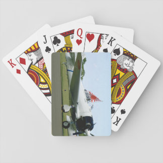 Replica Zero W/ Flag_WWII Planes Playing Cards