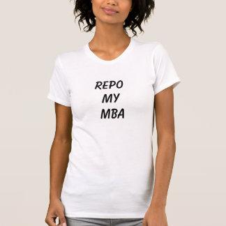 REPO MY MBA WOMEN'S WHITE T-Shirt