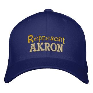 Represent Akron Cap