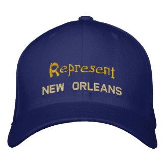 Represent New Orleans Cap