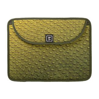 reptile skin texture macbook sleeve