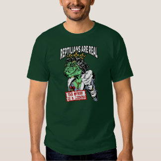 Reptilians Are Real - The Queen Is A Lizard T Shirts