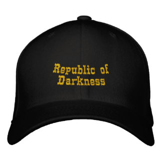 Republic of Darkness Embroidered Baseball Cap