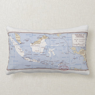 Republic of Indonesia and Portuguese Timor (1962) Lumbar Cushion