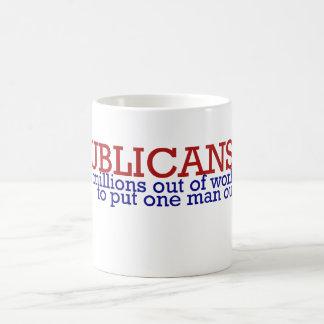 Republican 2012 satire basic white mug