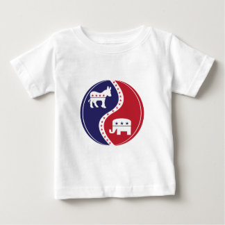 Republican  Democrats Working Together Baby T-Shirt
