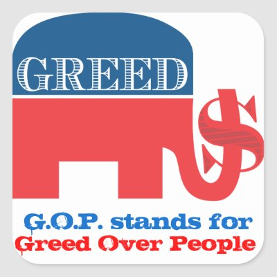 republican greed