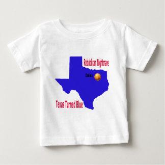 Republican Nightmare Texas Turns Blue Baby T-Shirt