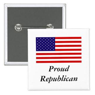 Republican Pride 15 Cm Square Badge
