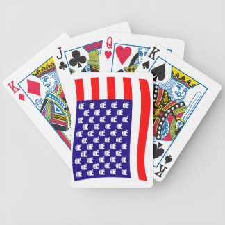 Republican Stars and Stripes Flag Poker Deck