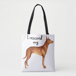 Rescue Pharaoh Hound Tote Bag
