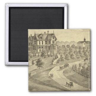 Residence of John Biggert, Idlewood Station Square Magnet