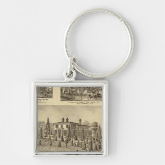Residence of William Reed , Sewickley Key Ring