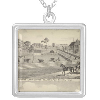 Residences of J Justice Silver Plated Necklace