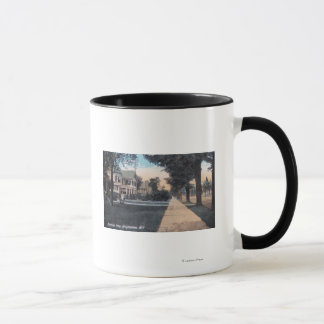 Residential Scene on Riverside Drive Mug