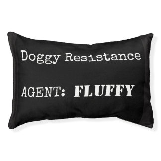 #resist Doggy Resistance Pet Bed for Dogs