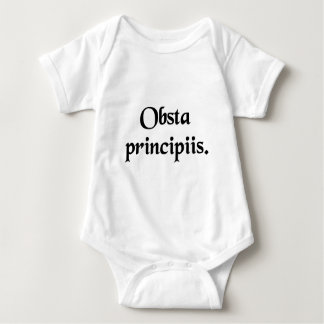Resist the beginnings. baby bodysuit