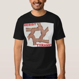 Resist Tyranny T-shirts