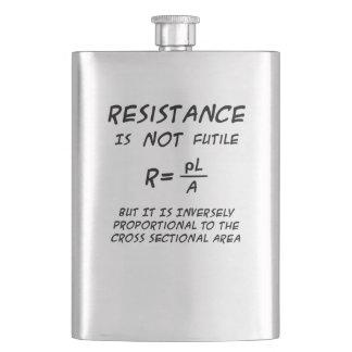 Resistance Humour Hip Flask