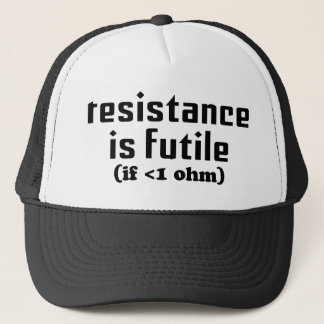 Resistance Is Futile Hat