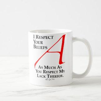 Respect Beliefs Mugs