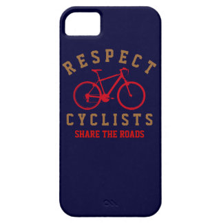 respect bicyclists sport-themed iPhone 5 case