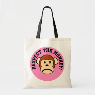 Respect the angry monkey or face his wrath bag
