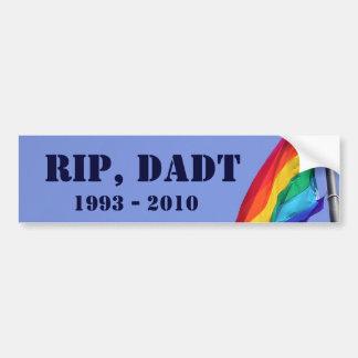 Rest In Peace, DADT Bumper Sticker