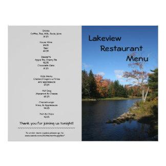 Restaurant Supplies Menu Lakeside designs 21.5 Cm X 28 Cm Flyer