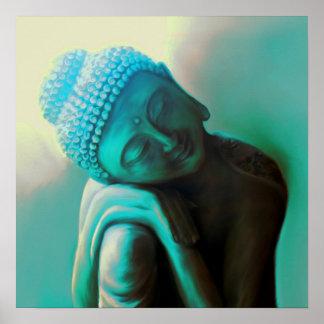 Resting Buddha Poster