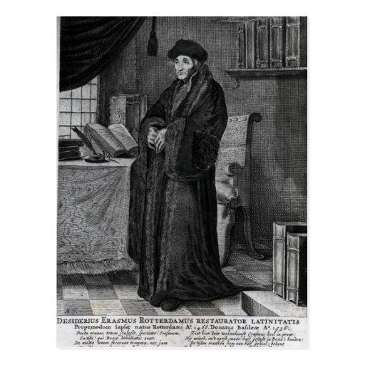 Restorer of the Latin language' Postcards