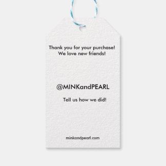 Retail Greeting Tag | Social Media Tag