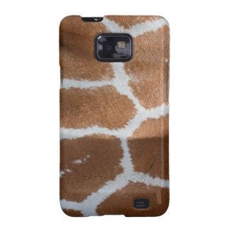 reticulated giraffe skin print samsung galaxy s2 cover