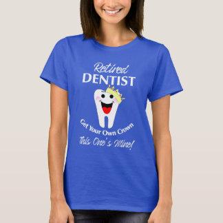Retired Dentist Funny Novelty Retirement Graphic T-Shirt