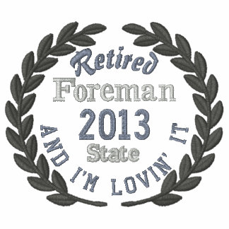 Retired Personalized YEAR Plus Laurels Embroidery Polo Shirts