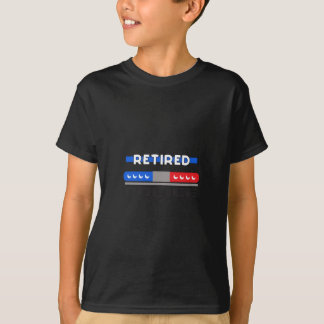 Retired Police T-Shirt