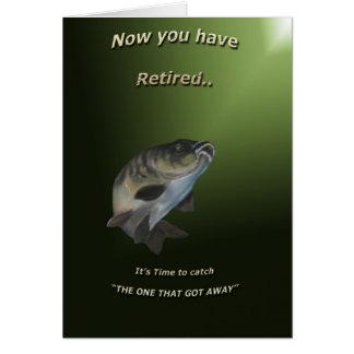 Retirement Card.(Carp Fishing) Card