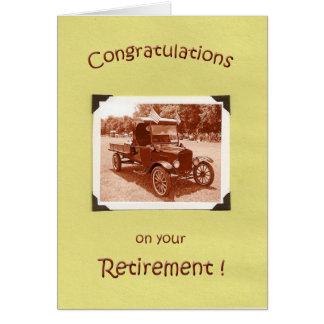 Retirement Congratulations Greeting Card
