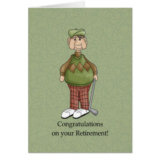 Retirement for Husband - Humor Card