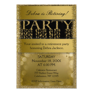 Retirement Party   Elegant Fun Card