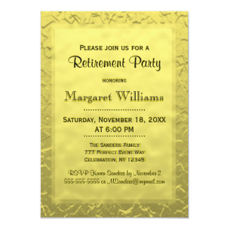 Retirement Party | Golden Ticket Card