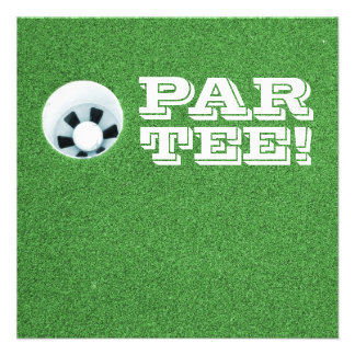 Retirement Party - Golf Theme - PAR-TEE Custom Invites