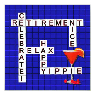 Retirement Party Invitations - Puzzle