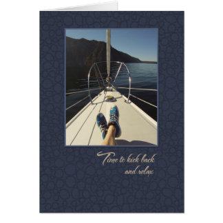 Retirement Sailing card
