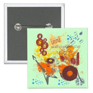 Retro 80 s Music Pin