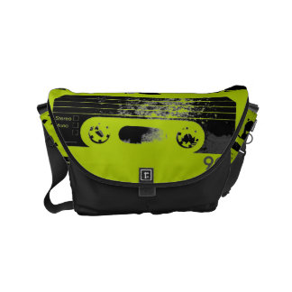 Retro 80's Design - Audio Cassette Tape Commuter Bag