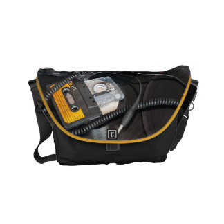 Retro 80's Design Commuter Bags