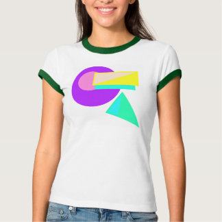 Retro 80s Style-Neon Abstract Shirt