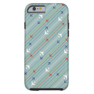 Retro Airplane Pattern iPhone 6/6s Case